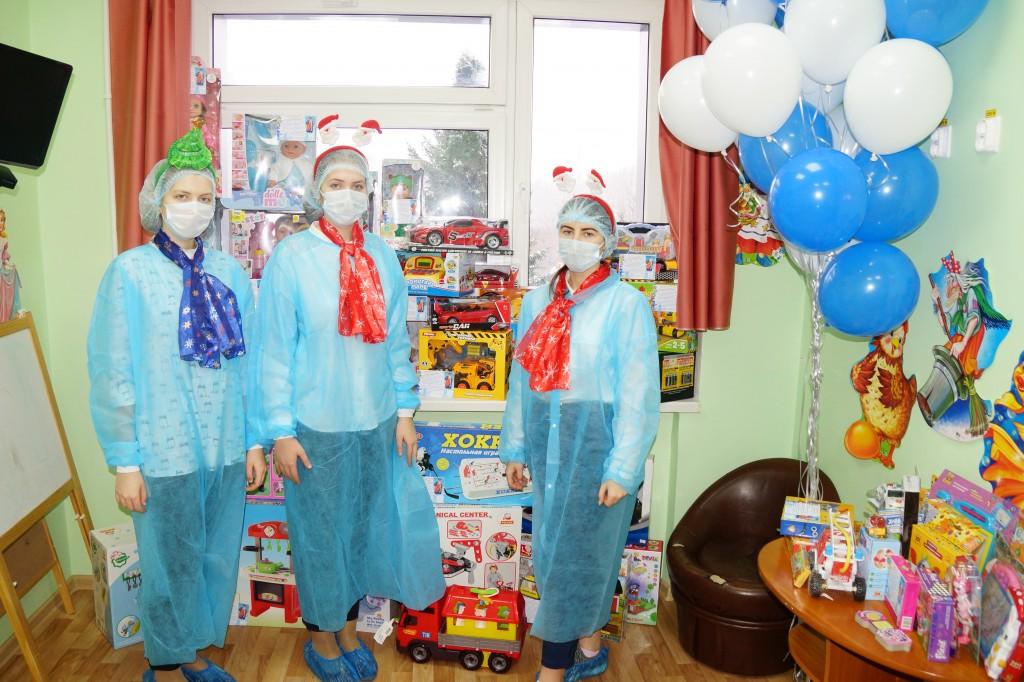 Акция «Корзина новогодних чудес», 2018