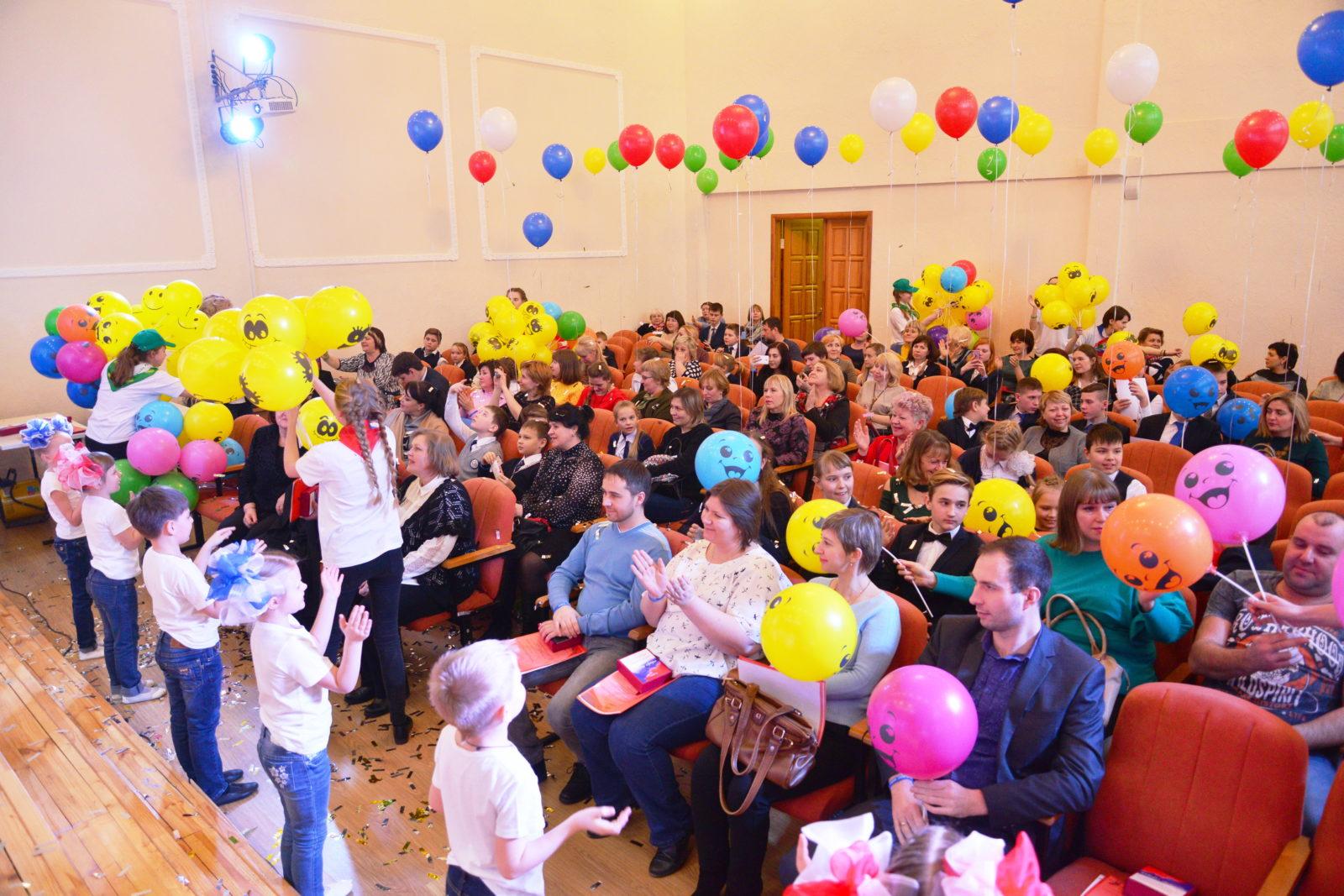 Торжественное подведение итогов реализации социальных проектов сетевым сообществом ОУ города Липецка в 1 полугодии 2017-2018 учебного года.
