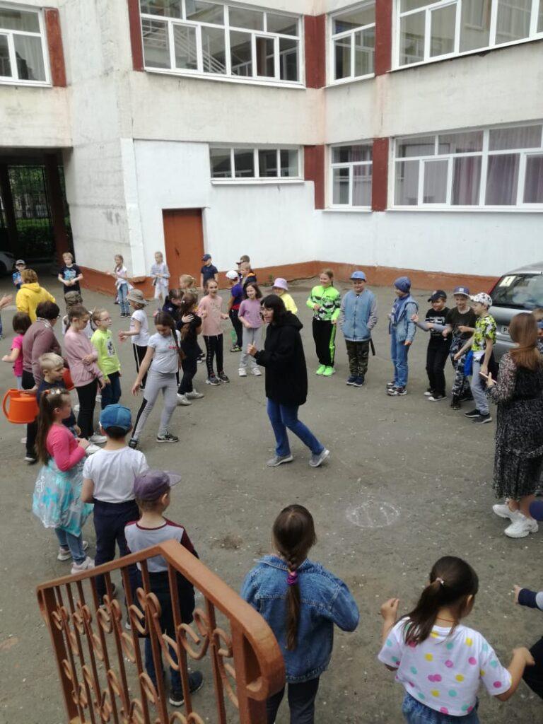 """Открытие смены детского лагеря """"ЭКОлята"""""""